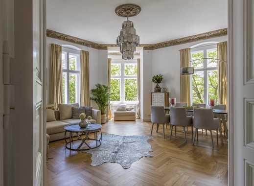 Vollmöblierte sonnige, große 100qm Wohnung, Graefestraße