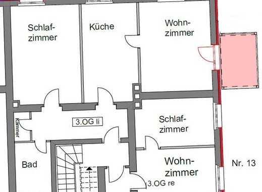 Gut und sicher wohnen - 2-Zimmer-Wohnung