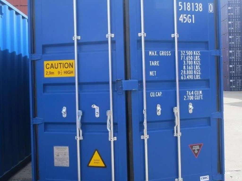 Container Eingang