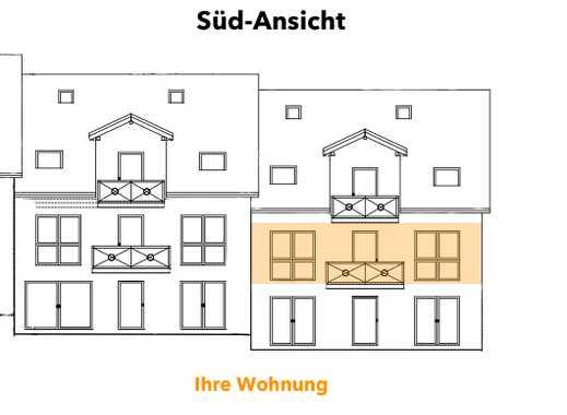 Wohnen im Grünen - Neubau 2-ZW mit Süd-Balkon: umweltfreundlich & CO2 reduziert #4