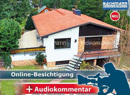 Berlin - Biesdorf: Einfamilienhaus mit Tiefgarage und Baulandreserve - UWE G. BACHMANN