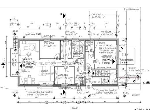 1.300 €, 120 m², 4 Zimmer