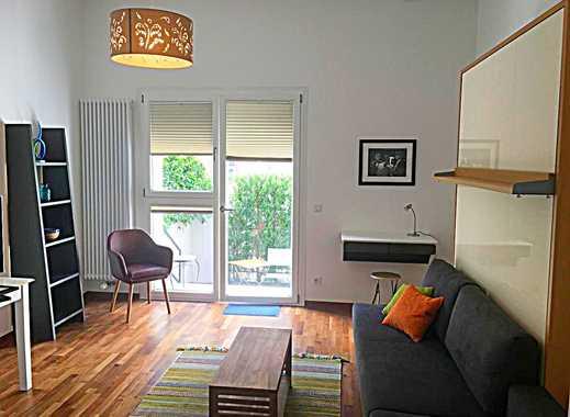 Toplage im Herzen von Frankfurt, möbliertes City-Apartment mit Terrasse!