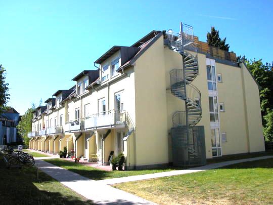 **2-Zimmer-Dachgeschosswohnung ohne Balkon**