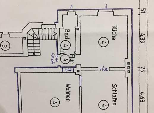 Erstbezug nach Sanierung: preiswerte 2-Zimmer-EG-Wohnung mit Innenhof in Gelsenkirchen-Schalke
