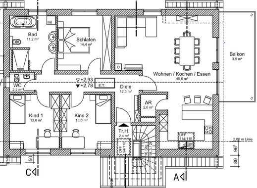 Erstbezug mit Terasse: attraktive 4-Zimmer-Wohnung in Kammerstein