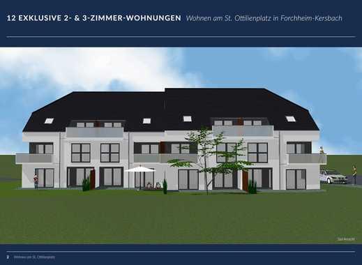 Neuwertige 2-Zimmer-Erdgeschosswohnung mit Gartenanteil in Forchheim (Kreis)