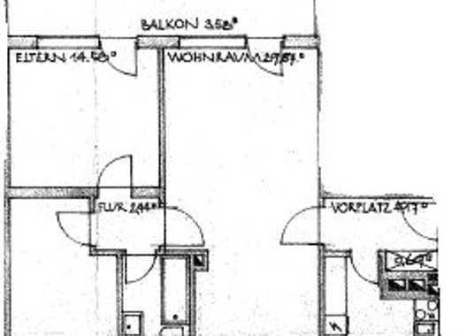 Neu renovierte 3-Zimmer-Wohnung mit riesigem Balkon in Germering (24 min bis München Hbf)