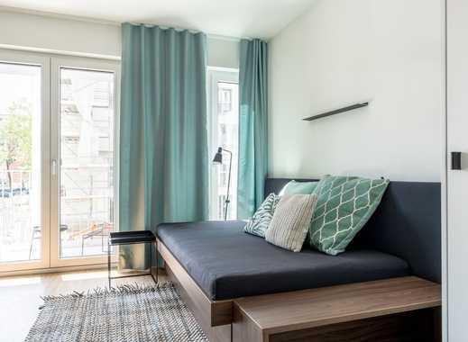 Exklusiv möbliertes 1-Zimmer City Apartment mit Balkon