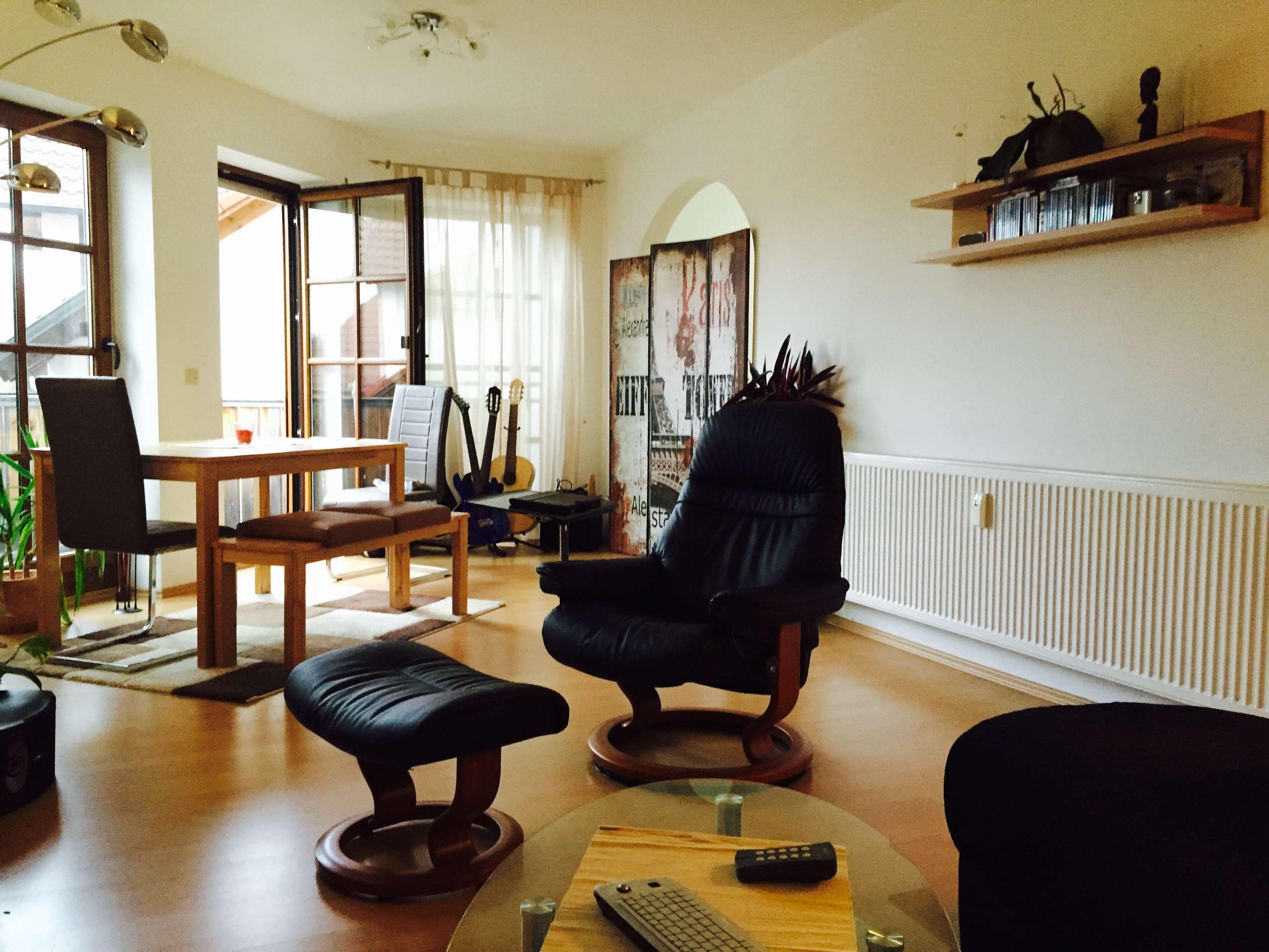 Exklusives Apartment, vollmöbliert mit SW-Balkon nähe Auwaldsee in Südost (Ingolstadt)