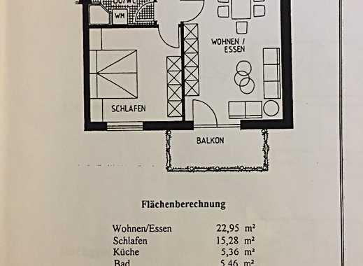 Schicke 2-Zi-Whg mit Balkon, EBK, Fussbodenhzg. und TG-Stellplatz in Del/Stickgras