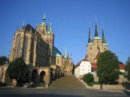 Erfurter DOM mit Severikirche