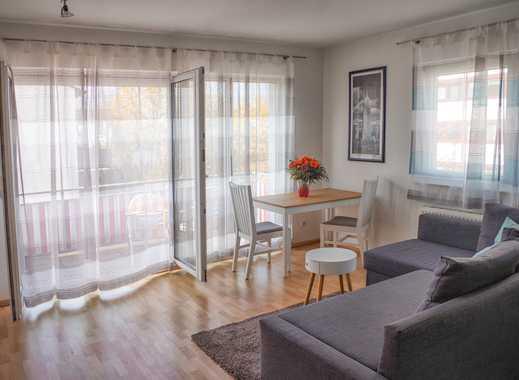 Attraktive möblierte 1-Zimmer-Wohnung mit großem Balkon