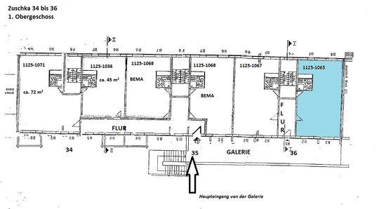 1. Obergeschoss Zuschka 34-36