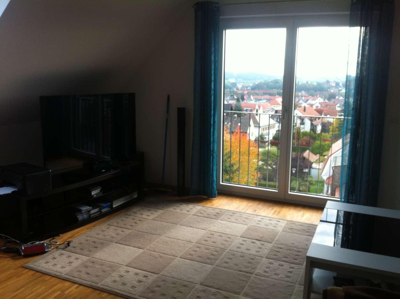 Ruhige Dreizimmerwohnung mit Blick auf Pfaffenhofen in Pfaffenhofen an der Ilm