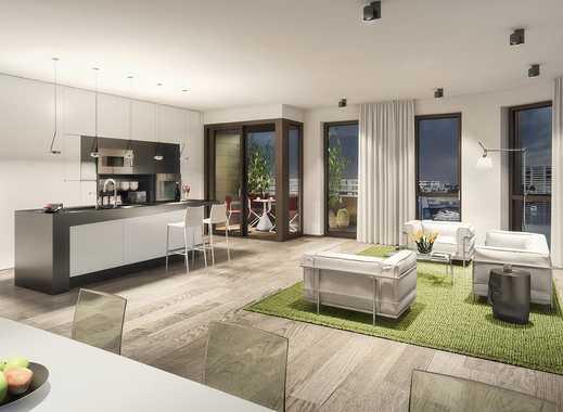 PANDION DOXX - Einzigartige 2-Zimmer-Wohnung auf ca. 67 m² mit Balkon und Wasserblick.