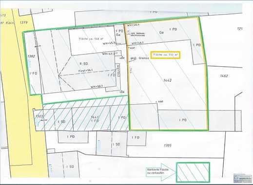 Baugrundstück für MFH bis ca. 420 m² Wfl. zzgl. MFH mit Garagenhof