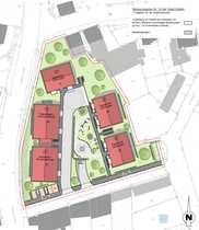 Projektierte Grundstücksfläche im Alleinauftrag in