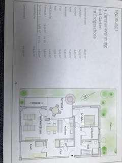 Schöne, geräumige drei Zimmer EG Wohnung mit Garten und Terrasse in Dachau (Kreis), Markt Indersdorf