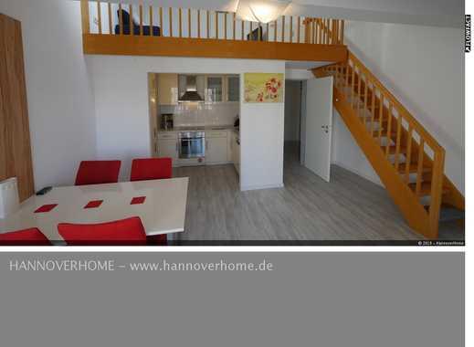 Döhren/Leineinsel - wunderschöne Wohnung über 2 Ebenen mit Internet, Balkon und Garage!