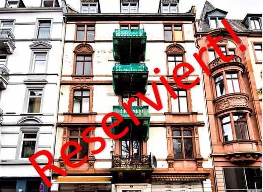 RESERVIERT!-BEST OF BAHNHOFSVIERTEL: Denkmalgeschützter Stilaltbau - 80% Leerstehend!