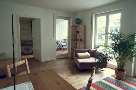 Schöne zentralgelegene möblierte 1,5-Zimmerwohnung in Schwabing in Schwabing (München)