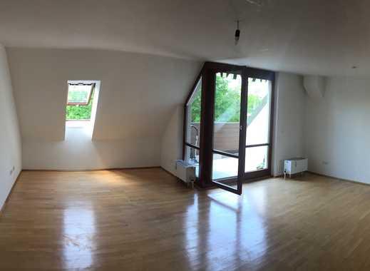 Exklusive 2-Zimmer-Maisonette-Wohnung mit Balkon und Luxus-EBK in Dachau