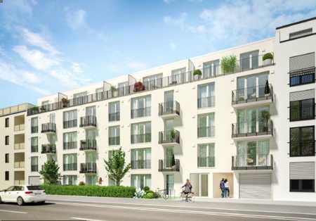Neubau / Erstbezug / Möblierte 1-Zimmer-Wohnung mit Balkon und TG-Stellplatz / 28,11 m² Wfl. in Perlach (München)