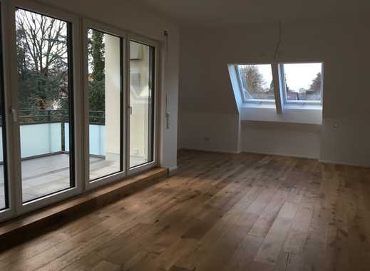 helle 3-Zimmer-Dachgeschosswohnung mit Balkon