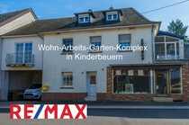 Besonderer Wohn-Werk-Büro-Schuppen-Garten-Komplex in der Dorfstraße