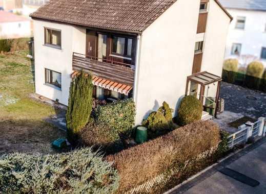 Fertighaus mit ca. 782 m² Grundstücksfläche in Schwabach Eichwasen