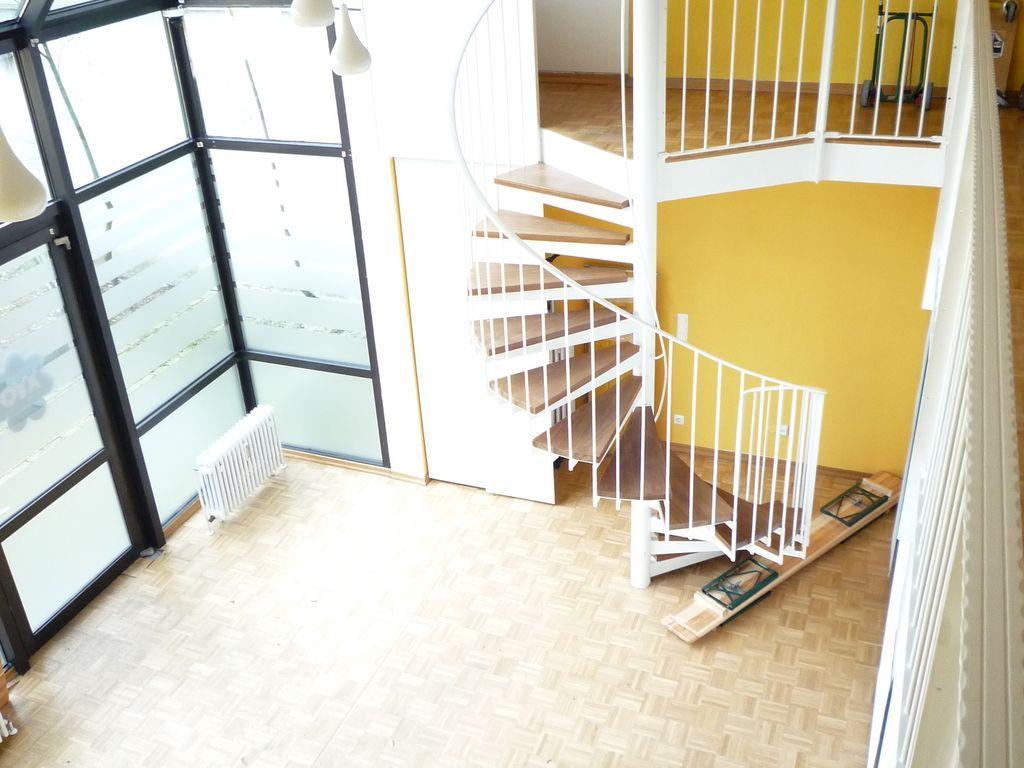 Atelier mit 6 m hoher Decke