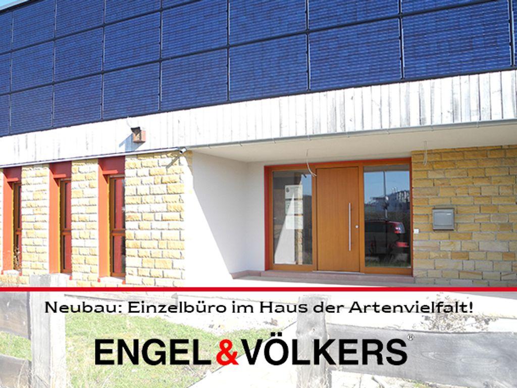 Neubau: Einzelbüro im Haus der Artenvielfalt!