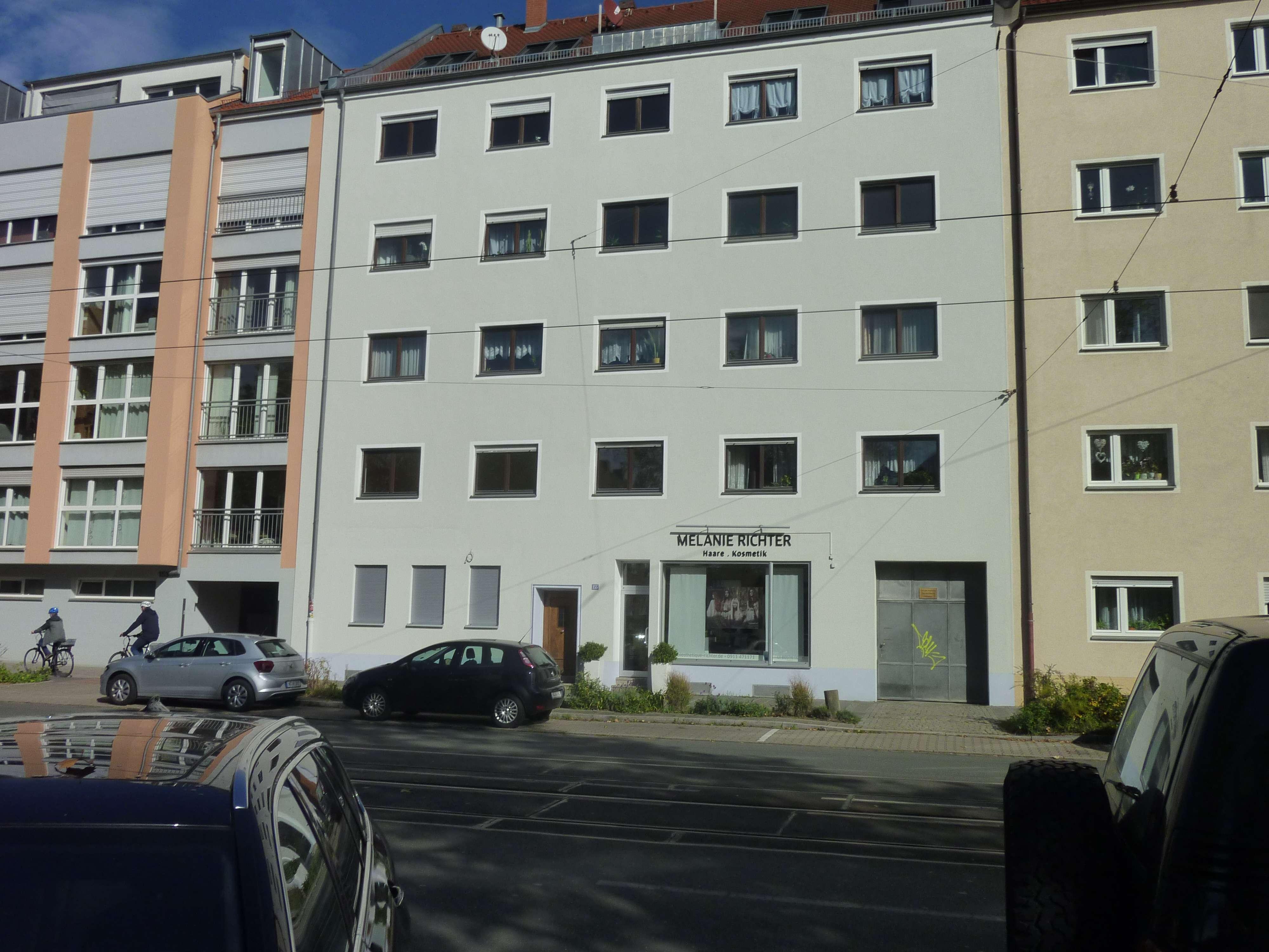 Erstbezug: helle und freundliche  2-Zimmer-EG-Wohnung in Nürnberg in Guntherstraße (Nürnberg)