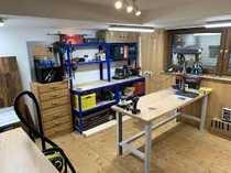 Hobbyraum im Bauhaus- und Kreativcenter