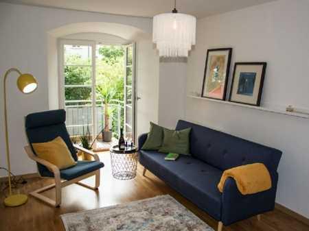 Sanierte EG-Wohnung mit drei Zimmern sowie Balkon und EBK in Kempten in Kempten (Allgäu)-Innenstadt