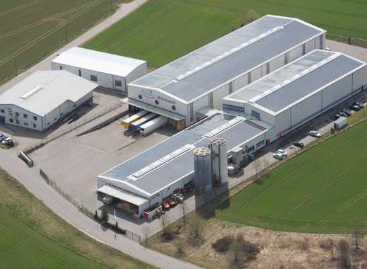 Logistik- /Produktions- /Lagerhalle mit Freifläche (nur Halle 1);  auch Teilvermietg