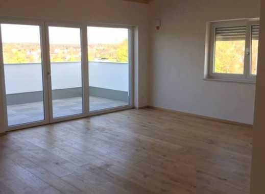 So gut wie neu, exklusiv, mit toller Aussicht+Lift: 2-Zi-Penthouse-Whg. mit chicem Bad, Gäste-WC...