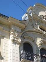 Jugendstildetails Fassade