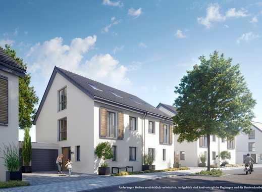 Provisionsfreie Doppelhaushälfte - Zentrumsnah in grüner Umgebung -