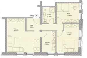 3 Zimmer Wohnung in Aschaffenburg