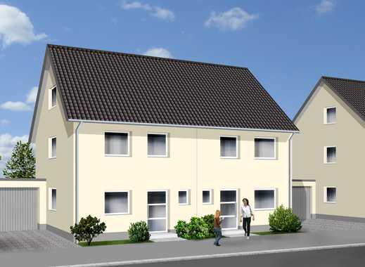 Schöne familienfreundliche Doppelhaushälfte - Komplettpreis - Haus inklusive Grundstück
