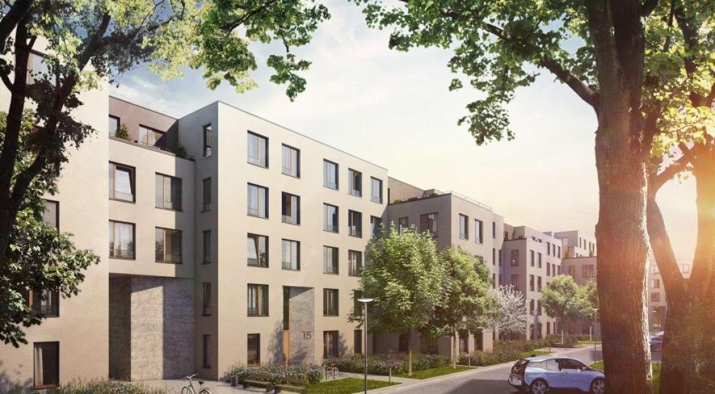Erstbezug: exklusive 2-Zimmer-EG-Wohnung mit EBK und Garten in Stadtzentrum Regensburg (Das Dörnberg