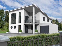 Pultdachhaus modern