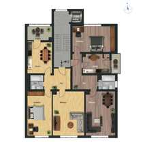 Bezugsfrei Große 2 Zimmer Wohnung