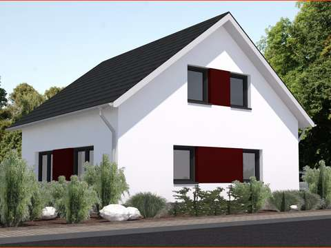 Neubau EFH als KFW 40 Energie Plus-Haus mit PV-Anlage und in ...