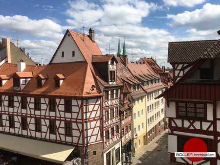 Hier wohnen ist eine Liebeserklärung an die Nürnberger Altstadt! Fachwerk & moderne Lebensweise! in Altstadt, St. Sebald (Nürnberg)