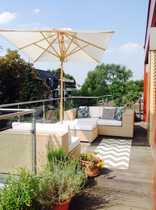 Top modernes Penthouse mit Sonnenterrasse