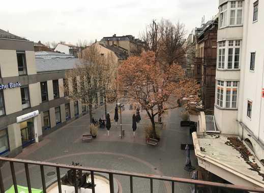 Gepflegte 2-Zimmer-Wohnung mit 2 Balkons in Wormser Fußgängerzone