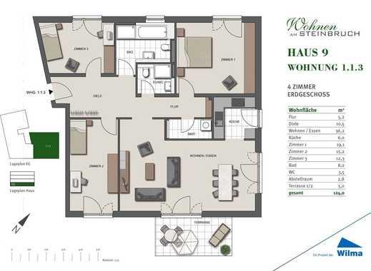 Die 4 Zimmer-Familien-Wohnung! Besuchen Sie uns jeden Mittwoch zwischen 17-19 Uhr